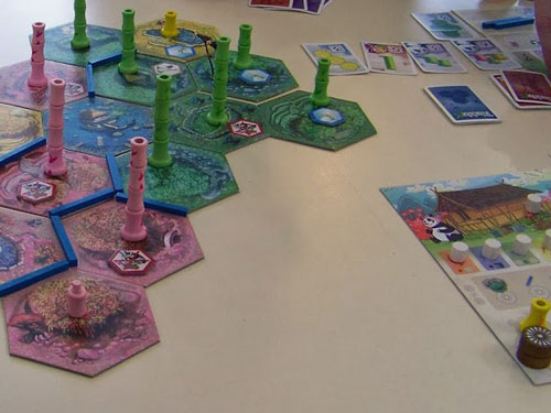 Takenoko, version sans le dé !